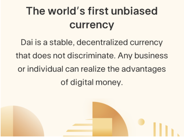 As an unbiased currency, users everywhere would benefit from Dai-integrated debit  cards.